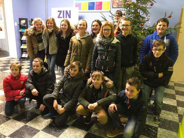Leerlingen 1Aa laatste schooldag Sint-Lutgart 2017