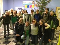 Leerlingen 2Aa laatste schooldag Sint-Lutgart 2017