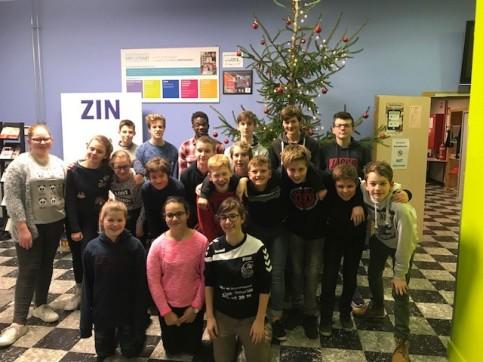 Leerlingen 2Ac laatste schooldag Sint-Lutgart 2017