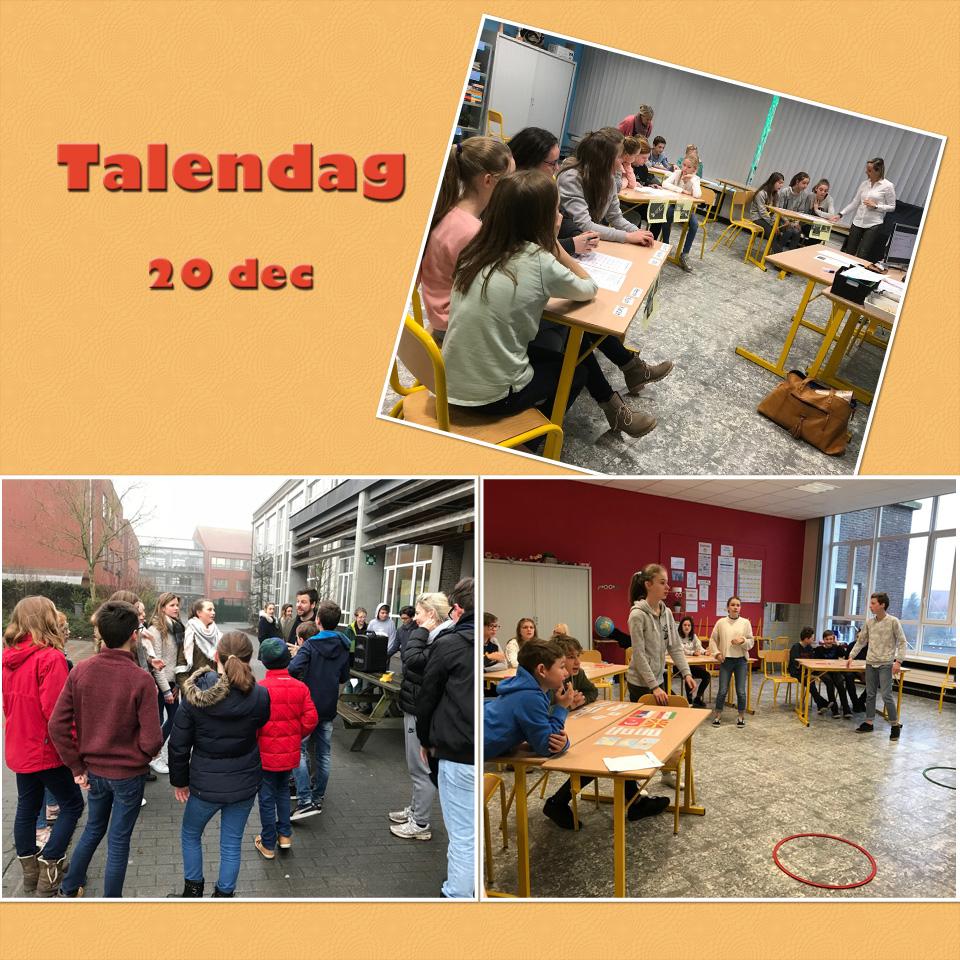 Workshops Talen in middenschool Sint-Lutgart